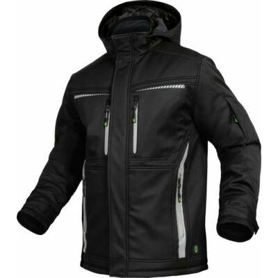 TRIUSO Flex-Line, Softshell kabát fekete FLEXI05
