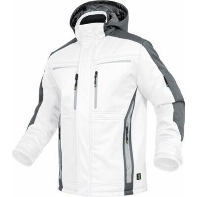TRIUSO Flex-Line, Softshell kabát fehér/szürke FLEXI24