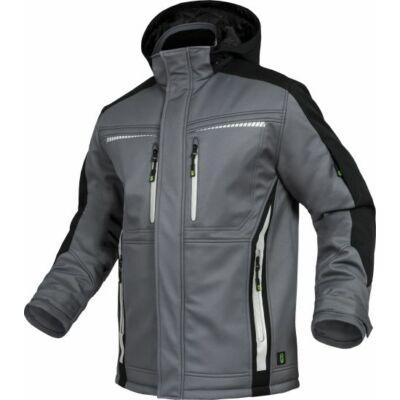 TRIUSO Flex-Line, Softshell kabát szürke/fekete FLEXI27