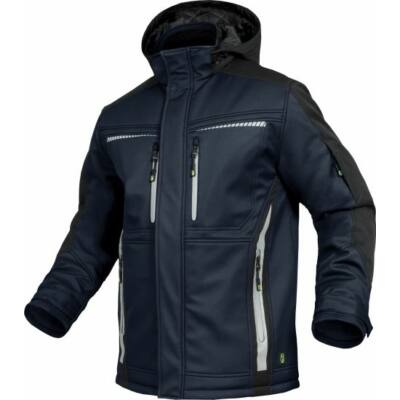 TRIUSO Flex-Line, Softshell kabát tengerészkék/fekete FLEXI30