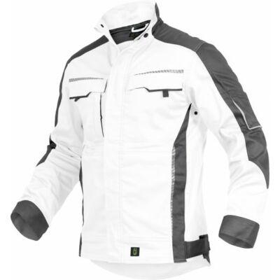 TRIUSO Flex-Line, munkakabát fehér/fekete FLEXJ24