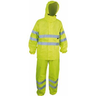 TRIUSO High Visibity Eső ellen védő öltözék